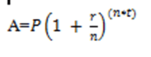 Compoung Interest formulae