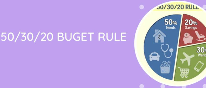 How To Build Expense Budget-50/30/20 Rule
