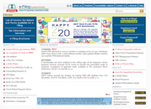 Official Site Of The Income Tax Department
