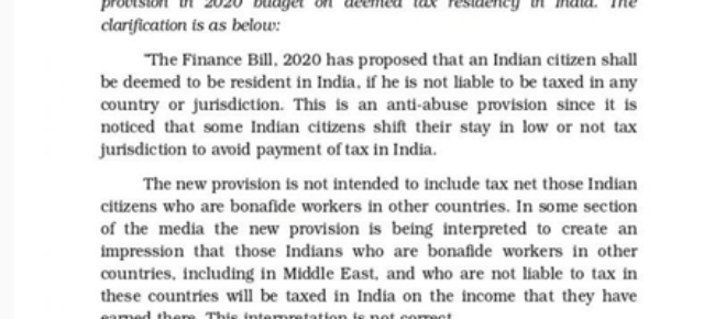Rules Regarding The Taxability Of NRI Income