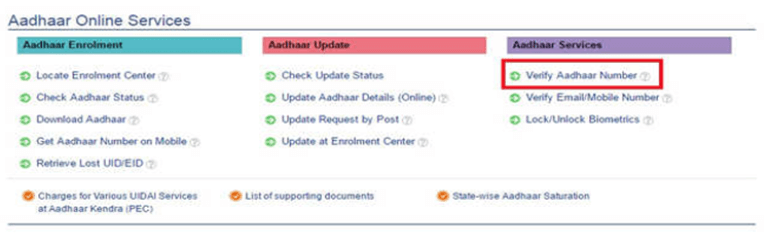 How To Check/Verify If your Aadhaar Number Is Active Or Not?