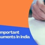 Checklist Of Important Property Documents In India
