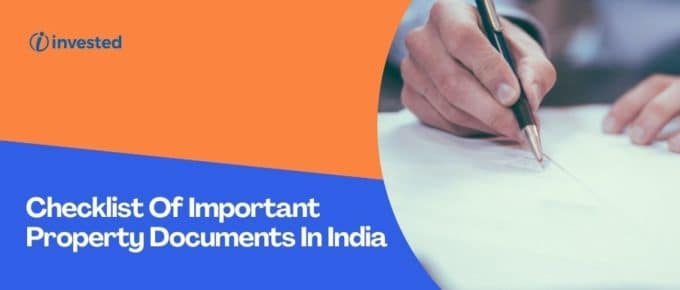 Important Property Checklist in India