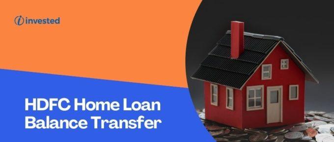 HDFC Home Loan Balance Transfer