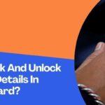 How To Lock And Unlock Biometric Details In Aadhaar Card?