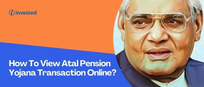 Check Atal Pension Yojana Transaction Online