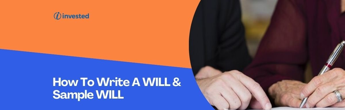 How To Write A WILL & Sample WILL