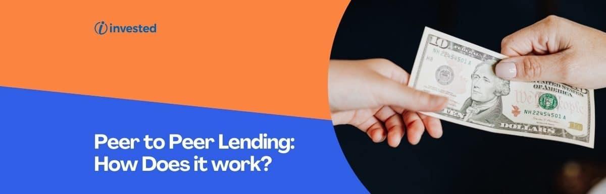 Peer to Peer Lending:How Does it work?RBI's latest Guidelines on P2P Lending Platforms