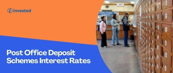 Post Office Deposit Schemes Interest