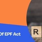 Schedule 1 Of EPF Act