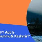 Whether The EPF Act Is Applicable To Jammu & Kashmir?