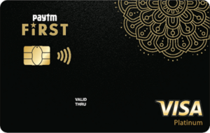 Paytm First Ever Credit Card