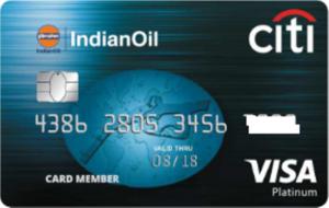 Citibank Indian Oil Platinum Credit Card