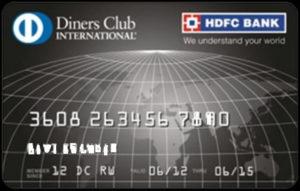 Diner Club Credit Card