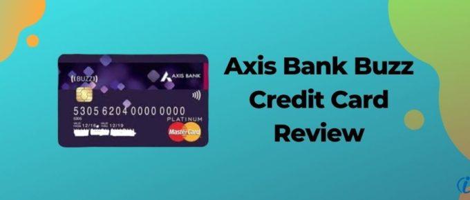 Axis Bank Buzz Credit Card