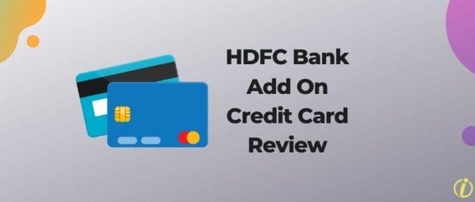 HDFC Bank Add On Credit Card