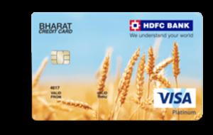HDFC Bharat Cashback Credit Card