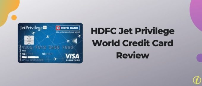 HDFC Jet Privilege World Credit Card