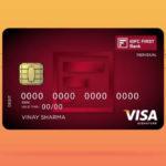 IDFC First Visa Signature Debit Card
