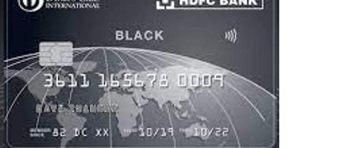 HDFC Diners Club Black Credit Card