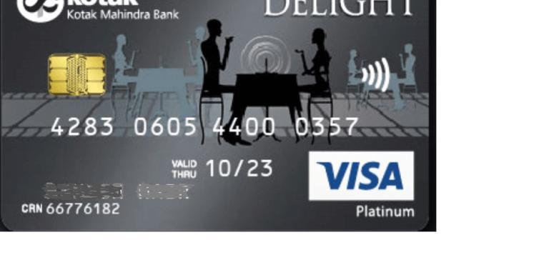 Kotak Delight Platinum Credit Card