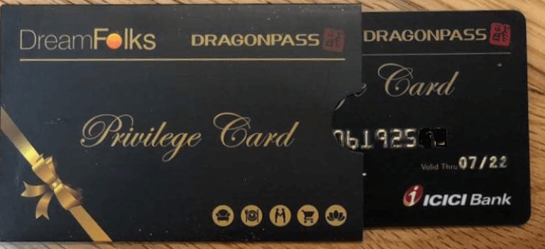 DreamFolks DragonPass Card Review India