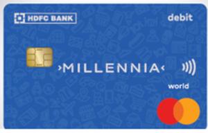 HDFC Bank Millennia Debit Card