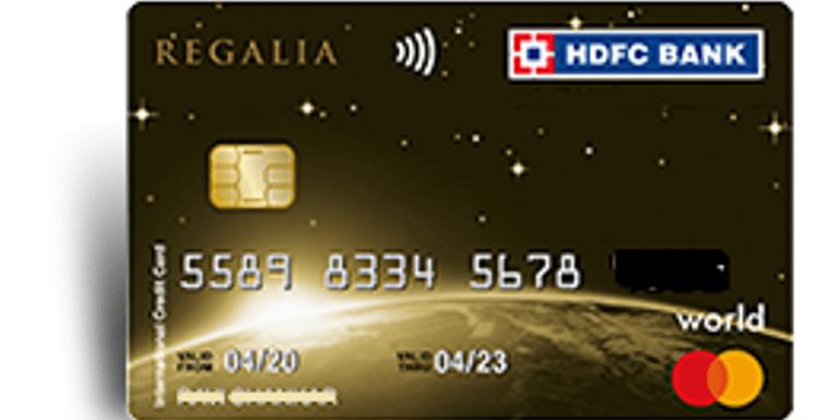 HDFC Bank Regalia ForexPlus Card