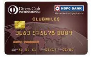 HDFC Diners Club Miles Credit Card
