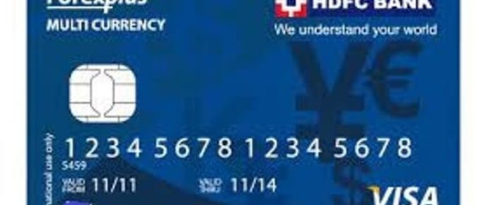 HDFC Multicurrency Platinum Forexplus Chip Card