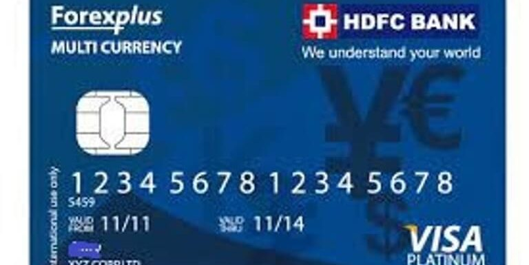 HDFC Multicurrency Platinum Forexplus Chip Card Review
