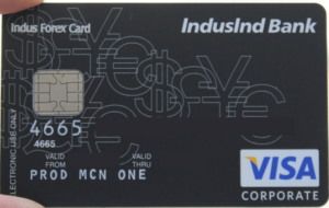 IndusInd Bank Multi-Currency Forex Card