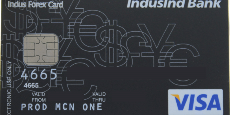 IndusInd Bank Multi-Currency Forex Card Review