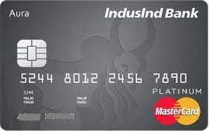 IndusInd Platinum Aura Credit Card