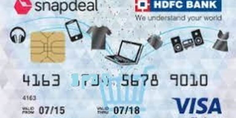Snapdeal HDFC Bank Credit Card
