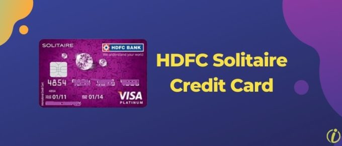 HDFC Solitaire Credit Card Review