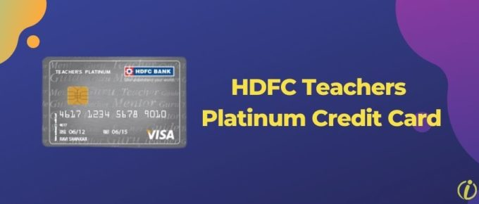 HDFC Teachers Platinum Credit Card