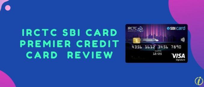 IRCTC SBI Card Premier Card
