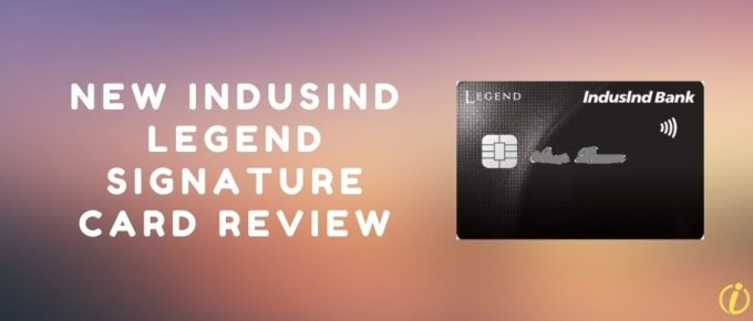New IndusInd Legend Signature Credit Card