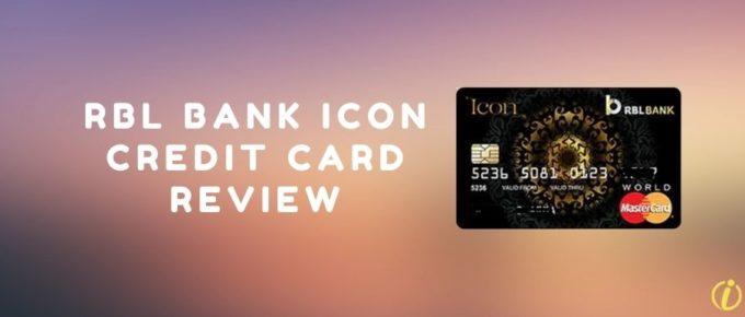 RBL Bank Icon credit card review