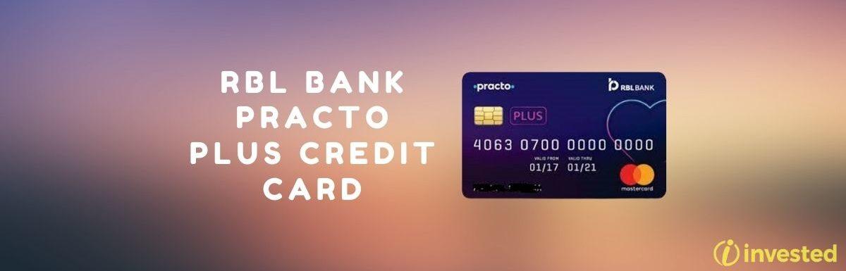 RBL Bank Practo Plus Credit Card