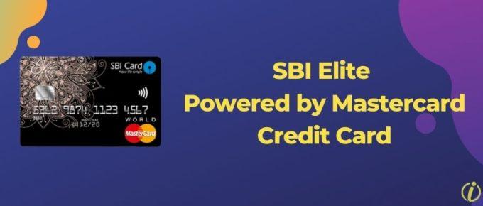 SBI Elite Powered By Mastercard