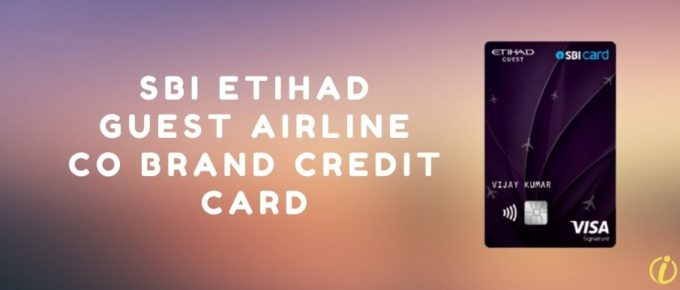 SBI Etihad guest airline co brand credit card