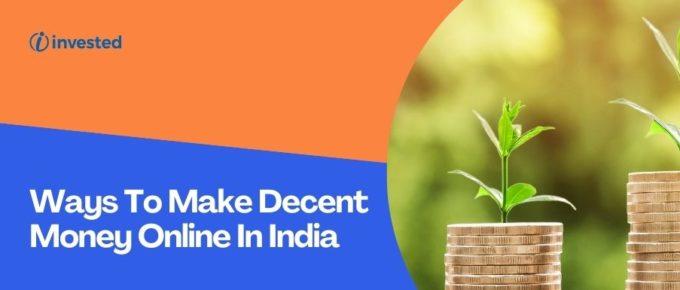 30 ways to make money online in India