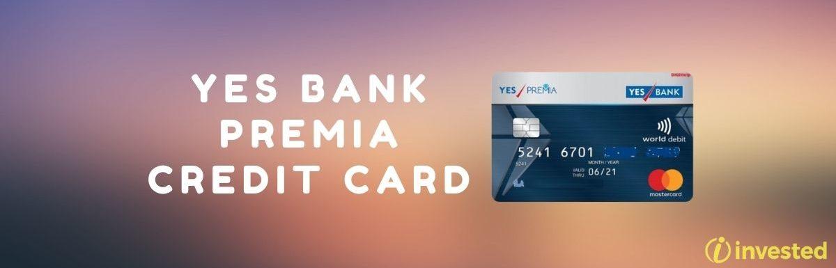 YES Bank Premia Credit Card